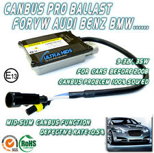 CANBUS PRO HID XENON CONVERSION KIT NO ERROR FREE SLIM BALLAST BULBS AUDI VW