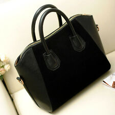 A#S0 Women Handbag Shoulder Bags Crossbody Tote Purse Frosted PU Leather Bag