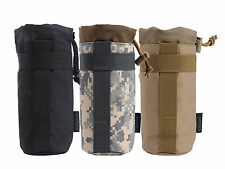 Tactical Collapsible Military Bottle Kettle Bag Pouch for Outdoor Hiking Camping