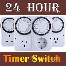 M3AO 24 Hours Electrical Energy-saving Programmable Timer Plug Switch Socket