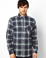 American Apparel Flannel Check Shirt UK SIZE S