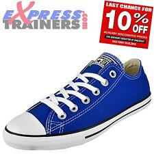 Converse Womens Junior All Star Lo Lean Classic Trainers Blue * AUTHENTIC *