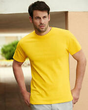 Fruit Of The Loom Heavy Cotton Plain Short Sleeve Crew Neck T Shirt - 61212