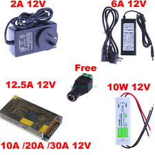 12V 2A 6A 10A 20/30A Power Supply Adapter Transformer Driver for LED Strip Light