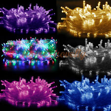 20M/30M/50M/100M Christmas Xmas Garden Party String Fairy Light Outdoor Indoor