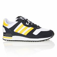 Adidas Originals ZX700 - D65286 - New Mens Navy Yellow Casual Shoes Sneakers