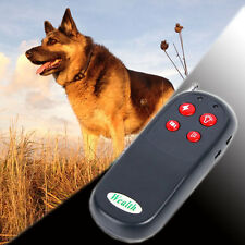 4in1 Remote Training No Barking Anti bark Shock Vibrate Collar Pet Dog Electric