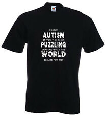 73a. Autism Kids T-shirts - Imagine what the world is like for me