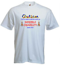 80a. Autism Kids T-shirts- What a person with an invisible disality looks like