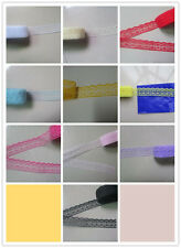 Unilateral beautiful embroidered lace ribbon 10/20/50/100 yards. Free shipping