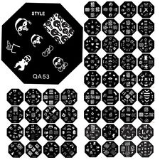 60pcs Fashion Designs DIY Nail Art Image Stamp Stamping Plates Manicure Template