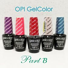 OPI GelColor PART B -All New Soak Off Led UV Gel Lacquer Base Top Coat .5oz/15mL