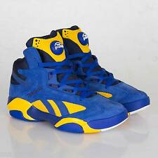 NEW REEBOK SHAQ ATTAQ - PACKER LIMITED RELEASE - BLUE GAME ROYAL YELLOW