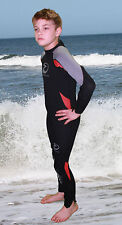 SHEERWATER Full 4MM Wet suit child/youth in 6 colors!  Size 2 to 16