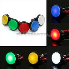 """12V 60MM 2.5"""" LED Light Big Round Arcade Video Game Player Push Button Switch"""