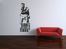 MUHAMMAD ALI - BOXING - GYM - QUOTE - WALL ART VINYL / DECAL - BEDROOM