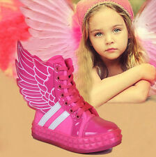 New Lovely Babys Toddlers Girls Boys Kids Childrens Sneakers Sports Shoes Boots