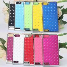 2014 New Prevail Style Bling Diamond Hard Case Cove Skin For Huawei Ascend G6