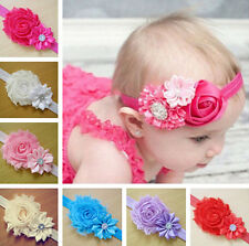 hot! 1pc Kid Girl Baby Toddler Infant Flower Headband Hair Bow Band Accessories
