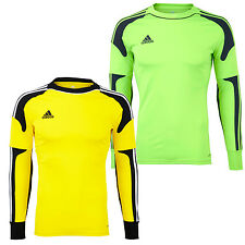 adidas Performance Mens Revigo Long Sleeve Goal Keeper Jersey Shirt Top New
