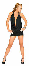 Halter Cowl Neck Club Mini Dress Party Mini Dress Roma Clubwear Clubbing 3134