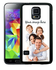 SAMSUNG GALAXY S3 S4 S5 CASE RUBBER COVER CUSTOM IMAGE