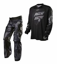 2015 SHIFT / Fox Adult Mens Recon Jersey Small & OTB Pant 30 Combo Black Camo