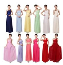 Sexy Womens Girls Prom Party Evening Wedding Dress Bridesmaid Long HOT 12 Colors