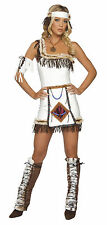 Indian Chief Costume Women's Native American Costume Halloween Dress 4206
