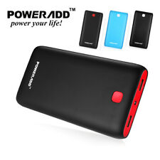 Poweradd 5000mAh Mobile External Battery Charger Power Bank For iPhone Samsung