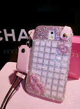 2014 Bling Diamond Gem Chain Case Cover Skin For Samsung Galaxy Note 2 3  S3 S4