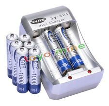 8xAAA Ni-MH 1000mAh rechargeable battery BTY+AA AAA Rechargable battery Charger