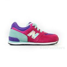 New Balance KL574H3I Hologram Pack (Pink/Mint) Infants/Toddlers Shoes (4C-10C)
