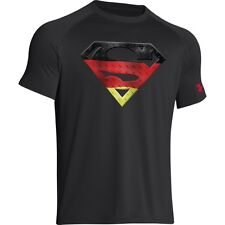 Under Armour Superman Germany Short Sleeve T-Shirt Mens World Cup - NEW