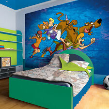 Scooby Doo on the Run Photo Wallpaper Wall Mural (CN-968VE)