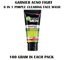 NEW GARNIER MEN ACNO FIGHT 6 IN 1 PIMPLE CLEARING FACE WASH FOR PIMPLE FREE SKIN