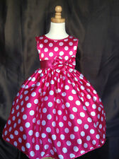 Minnie Mouse Polka Dot Inspired Dress