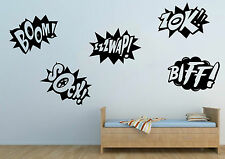 New Batman Retro Comics Pop Blasting Wall Art Stickers Mural Vinyl Sticker Decal