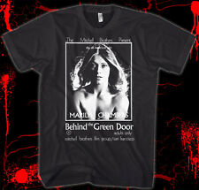 Behind the Green Door - Movie Poster - Marilyn Chambers 100% Cotton Shirt