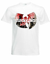 Wu Tang Clan Logo White New T-Shirt Fruit of the Loom ALL SIZES