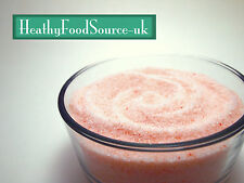 Himalayan Pink Rock Salt Fine %100 Pure Supreme Quality -Various Sizes Available