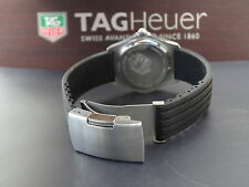 REPLACEMENT DEPLOYMENT RUBBER STRAP FOR TAG HEUER F1 1000 1500 2000 AQUARACER