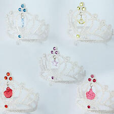 Disney Princess Glitter Tiara Girls Fancy Dress Childrens Kids Childs Costume Ac