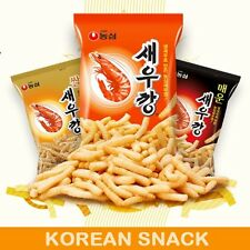 New NongShim Korean Shrimp Snack Chips Crackers / Choose in 3 taste / Korea Food