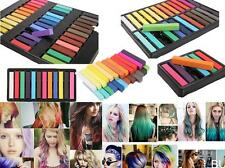 36 Color Non-toxic Temporary Hair Chalk Dye Soft Pastel Salon Kit Show Party BUC