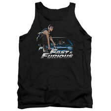 The Fast And The Furious Action Drive Movie Car Ride Adult Tank Top Shirt