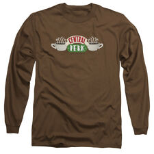 Friends Sitcom Funny TV Series Central Perk Logo Adult Long Sleeve T-Shirt