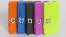 ULTRA SLIM USB RECHARGEABLE CIGARETTE FLAMELESS ELECTRONIC LIGHTER WITH TORCH