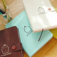 Korean Molang Diary ver.2 Sticker Daily Undated planner schedule journal Korea