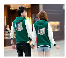 Costume Shingeki No Kyojin Attack on Titan Aren wing jacket hoodies coat Green